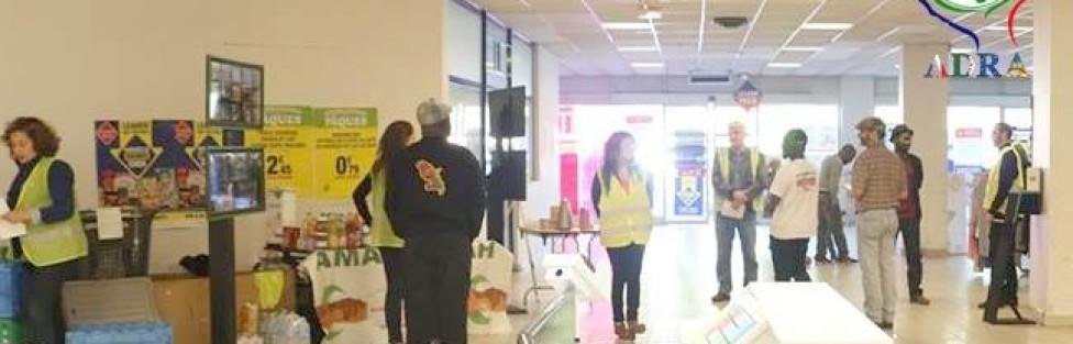 10éme Campagne collecte alimentaire pour les démunis Avril 2014.