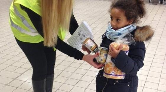 16ème collecte alimentaire Décembre 2015